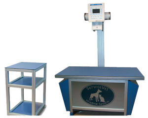 vet xray table